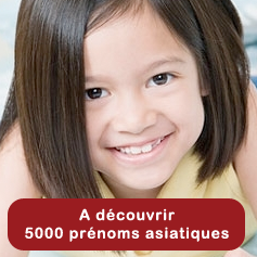A dcouvrir : 5000 prnoms asiatiques